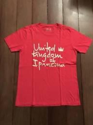 Camiseta Osklen Vermelha