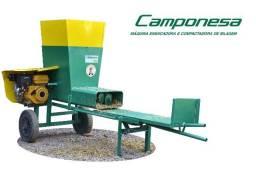 Máquina Ensacadora e Compactadora de Silagem Camponesa