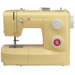 Máquina de Costura SINGER Simple 3223 yellow - Com Braço Livre! Nova