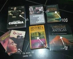 Livros de 3 a 35 reais
