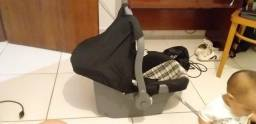 Bebê Conforto Nino Tutti Baby - Preto E Xadrez