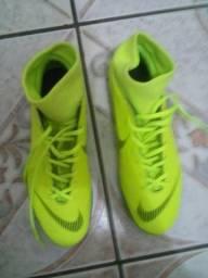 4e048f4c56775 Chuteira Society Nike Mercurial Superfly X 6 Club tamanho 40