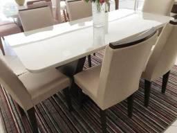 Mesa de jantar alvorada 6 cadeiras L728