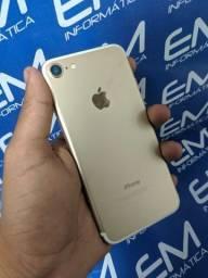 Hoje IPhone 7 32GB Gold- Seminovo - somos loja física Niterói