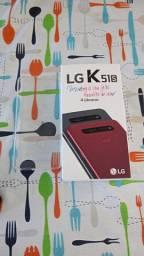 Lançamento. LG k51s na caixa nota e garantia