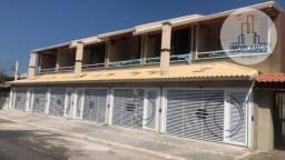 Sobrado com 2 dormitórios à venda, 136 m² por R$ 449.000,00 - Vila Caiçara - Praia Grande/
