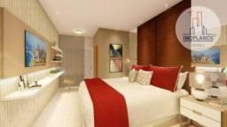 Apartamento Duplex com 2 dormitórios à venda, 116 m² por R$ 569.750,00 - Canto do Forte -