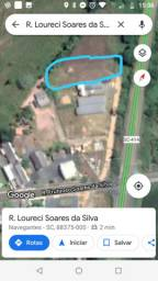 Terreno 870m² bairro Escalvado em Navegantes