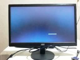 "Monitor AOC 18,5"" LED - E970SWNL - ""semi novo"" -""novissimo"""