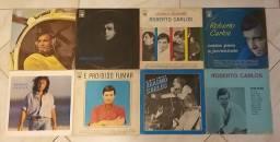 Coleção com 38 LP's discos do Rei ROBERTO CARLOS