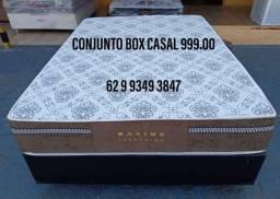 Conjunto box casal por apenas 899,00 a vista