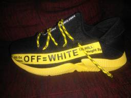 White off importado adidas