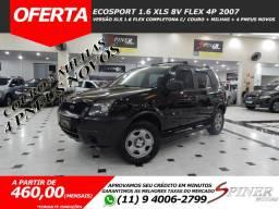 Ford Ecosport 1.6 XLS 8v Flex 4p Completa C/ Couro + 4 Pneus Novos