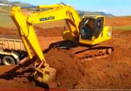 Escavadeira Komatsu Pc 200 Serie 8 ano 2017