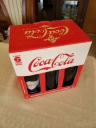Coca Cola Kit Com 6 Garrafas Colecionáveis