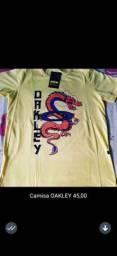 Camisas da Cavalera,Oakley e Lacoste
