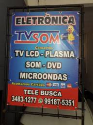 Conserto de tv lcd led plasma