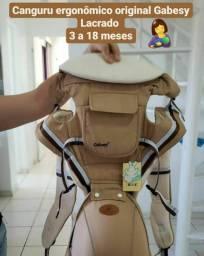 Canguru ergonômico luxo infantil original importado