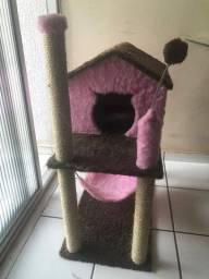 Vendo casa/arranhador para gatos