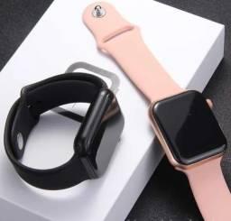 Relogio Smartwatch Iwo 8 44m Preto Troca Pulseira