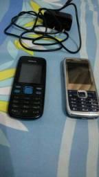 Vendo os 2 celulares Leia descrição