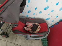 Carrinho de bebê +bebê conforto
