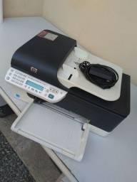 HP Multifuncional J 4660 Com os Cabos Cartuchos Paralelos Vazios Revisada
