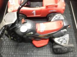 Carro e moto elétrico