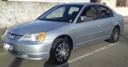 Honda Civic Automático excelente estado.Troca moto, carro menor valor Ano 2003