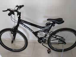 Bicicleta nova com nota