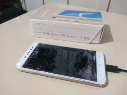 Smartphone Asus Zenfone Live - Tela quebrada