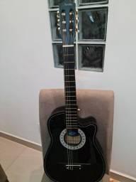Violão elétrico Agustín para iniciantes