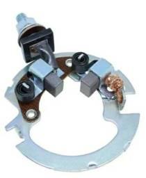 Escova e suporte para motor de partida moto