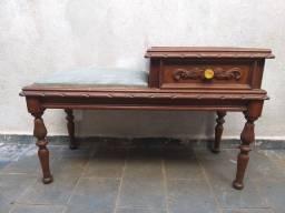 Lote de móveis antigos cerca de 50 peças, venda no estado, peças para restauro