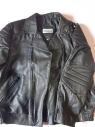 Vendo jaqueta em couro motoqueiro GG nova