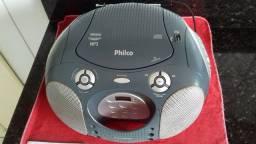 Radio estéreo AM/FM com CD/MP3 e USB