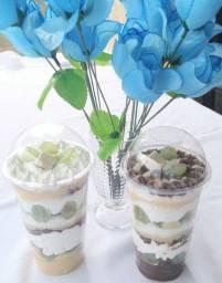 leite ninho com chocolate felicidade deliciosa no copo