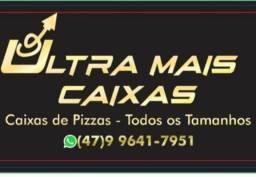 Caixas de pizzas