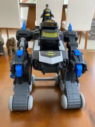 Robô do batman da imagnext de controle remoto que atira disco e fala