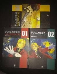 Mangá Full Metal Alchemist 1, 2 e 4