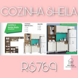 Armário de cozinha Sheila Sheila armário de cozinha nelepl