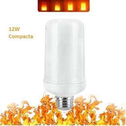 Lâmpada de Chamas LED 12w Compacta