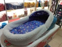 Cama sapatinho azul