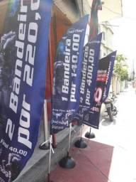 !  Wind banner pena fina 2,30m R$140,00