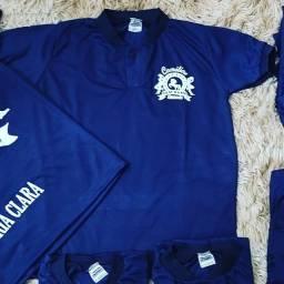 Camisas e uniformes personalizados
