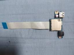 Placa Áudio Usb Leitor Cartão Lenovo G40-80