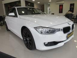 BMW 328i 2012 2.0 SEDAN 16V GASOLINA 4P AUTOMÁTICA BRANCA COMPLETA + TETO SOLAR!