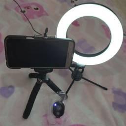 Kit  Ring Light  , tripe , click