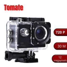 Câmera filmadora Full HD 720p Á prova d'água- Tomate
