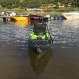Caiaque Safari com motor mercury 5 hp